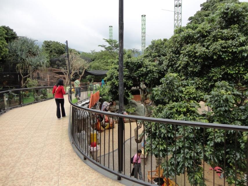 Salah satu sudut Secret Zoo