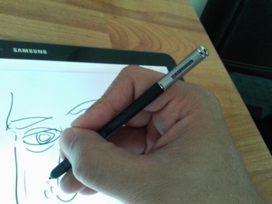 S-Pen masih salah satu fitur seri Note yang paling asik