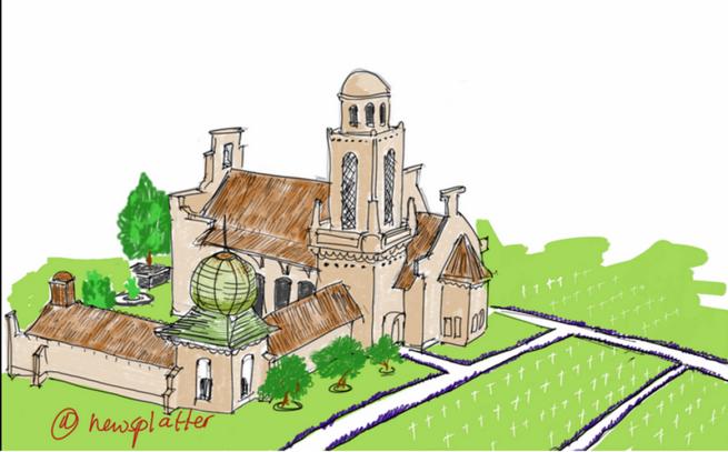 Sketsa ini dibuat menggunakan app Sketchbook di NotePRO