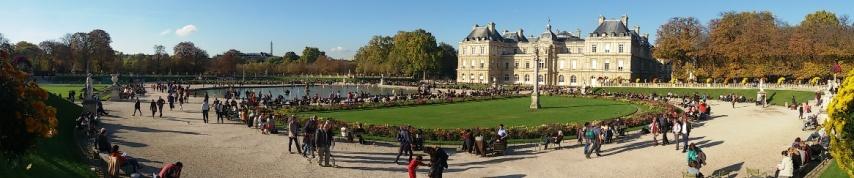 Foto panorama Jardin du Luxembourg