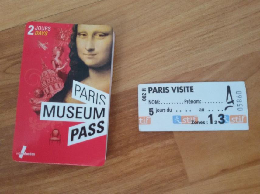 Paris Museum Pass berlaku 2 hari dan Paris Visite berlaku 5 hari
