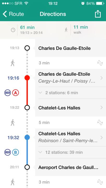 Menggunakan Metro di Paris gampang banget pake app ini